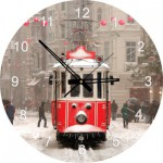 Art-Puzzle-4299 Puzzle Horloge - Beyoglu, Turquie (Pile non fournie)