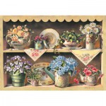 Art-Puzzle-4447 Puzzle en Bois - Cupboard Garden