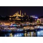 Art-Puzzle-4455 Puzzle Néon - Eminönü, Istanbul