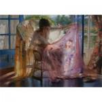 Puzzle  Art-Puzzle-4617 Vicente Romero Rodendo : Préparation pour la Nuit