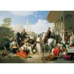 Puzzle  Art-Puzzle-4706 Jean-Léon Gérôme : Le Marché aux Esclaves