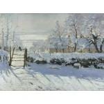 Puzzle  Grafika-00038 Claude Monet : La Pie, 1868-1869
