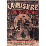 Puzzle  Grafika-00081 Affiche pour La Misère de Louise Michel, 1880