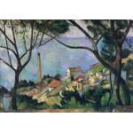 Puzzle  Grafika-00131 Paul Cézanne : Vue de l'Estaque