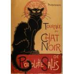 Puzzle  Grafika-00154 Théophile-Alexandre Steinlen : Affiche de la Tournée du Chat Noir, 1896