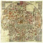 Puzzle  Grafika-00167 La Carte d'Ebstorf - Mappemonde du XIIe Siècle