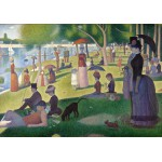 Puzzle  Grafika-00197 Georges Seurat : Un Dimanche Après-Midi à l'île de la Grande Jatte, 1884-1886