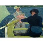 Puzzle  Grafika-00233 Mary Cassatt : The Boating Party, 1893-1894