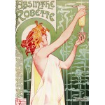 Puzzle  Grafika-00496 Alfons Mucha : Absinthe Robette, 1896