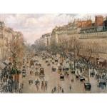 Puzzle  Grafika-00512 Camille Pissarro : Boulevard Montmartre, 1897