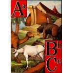 Puzzle  Grafika-00560 McLoughlin Bros : L'Alphabet de l'Arche de Noé , 1868