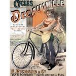 Puzzle  Grafika-00610 Affiche pour les Vélos Decauville, 1892