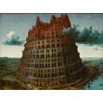 Puzzle  Grafika-00697 Brueghel Pieter l'ancien - La Tour de Babel