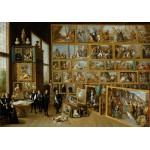 Puzzle  Grafika-00712 David Teniers : Le Gouverneur Léopold-Guillaume et sa collection de tableaux à Bruxelles
