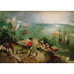 Puzzle  Grafika-00717 Brueghel Pieter : La Chute d'Icare, 1558
