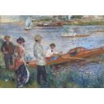 Puzzle  Grafika-00746 Renoir Auguste : Canoteurs à Chatou, 1879