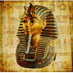 Puzzle  Grafika-00798 Vieux Papyrus Egyptien: Toutankhamon