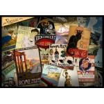 Puzzle  Grafika-00879 Collage d'Affiches