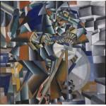 Puzzle  Grafika-01179 Kasimir Malevich: The Knifegrinder, 1912-13