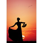 Puzzle  Grafika-01201 Flamenco at Sunset