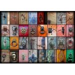 Puzzle  Grafika-01222 Collage - Portes