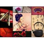 Puzzle  Grafika-01224 Collage - Japon