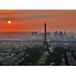 Puzzle  Grafika-01232 Coucher de Soleil sur Paris