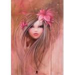 Puzzle  Grafika-01306 Misstigri : Sweet Pinky Girl