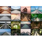 Puzzle  Grafika-01405 Collage - Ponts