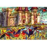 Puzzle  Grafika-01441 François Ruyer : Siège du Château Fort
