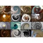 Puzzle  Grafika-01479 Collage - Escalier