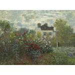 Puzzle  Grafika-01542 Claude Monet - Jardin de l'Artiste à Argenteuil, 1873