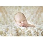 Puzzle  Grafika-01606 Konrad Bak: Baby sleeping in the Roses