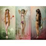 Puzzle  Grafika-01644 Les Trois Muses