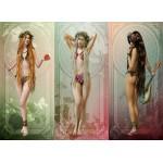 Puzzle  Grafika-01645 Les Trois Muses