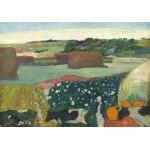 Puzzle  Grafika-01834 Paul Gauguin : Meules de Foin en Bretagne, 1890