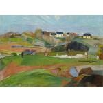 Puzzle  Grafika-01848 Paul Gauguin : Paysage à Pouldu, 1890