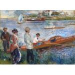 Puzzle  Grafika-01908 Auguste Renoir : Rameurs à Chatou, 1879