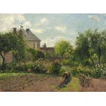 Puzzle  Grafika-02033 Camille Pissarro : Le Jardin de l'Artiste à Eragny, 1898