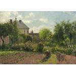Puzzle  Grafika-02034 Camille Pissarro : Le Jardin de l'Artiste à Eragny, 1898