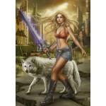 Puzzle  Grafika-T-00010 The Wolf's Sword