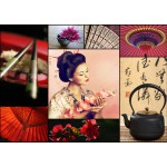 Puzzle  Grafika-T-00084 Collage - Japon