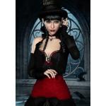 Puzzle  Grafika-T-00094 Femme Gothique aux Corbeaux