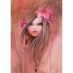 Puzzle  Grafika-T-00107 Misstigri : Sweet Pinky Girl