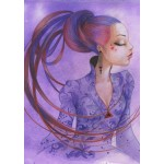 Puzzle  Grafika-T-00123 Misstigri : Violette
