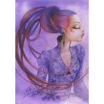 Puzzle  Grafika-T-00124 Misstigri : Violette