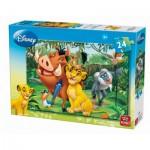 Puzzle  King-Puzzle-04713-B Le Roi Lion