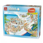 Puzzle  King-Puzzle-05075 Comic Collection - Cruise