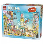 Puzzle  King-Puzzle-05089 Comic Collection - Times Square