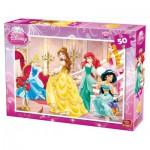 Puzzle  King-Puzzle-05280-B Disney Princesses